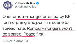 Fake News, Bengal