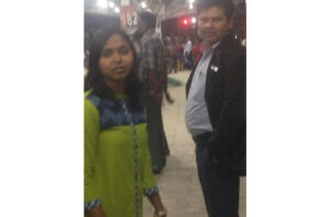 woman railways Gaya platform doctor samaritans