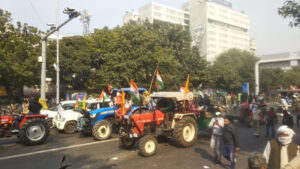 farmers tractor rally republic day parade protest kisan