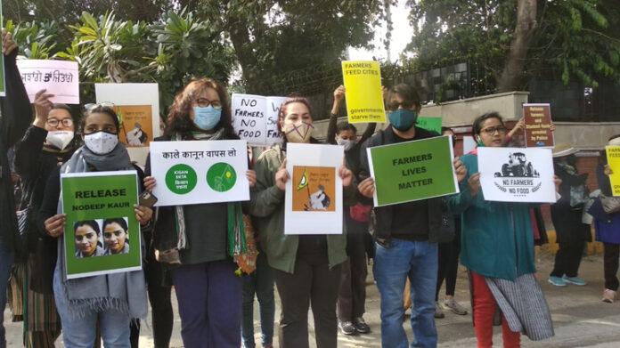 war against farmers protest modi govt delhi citizen march journalists