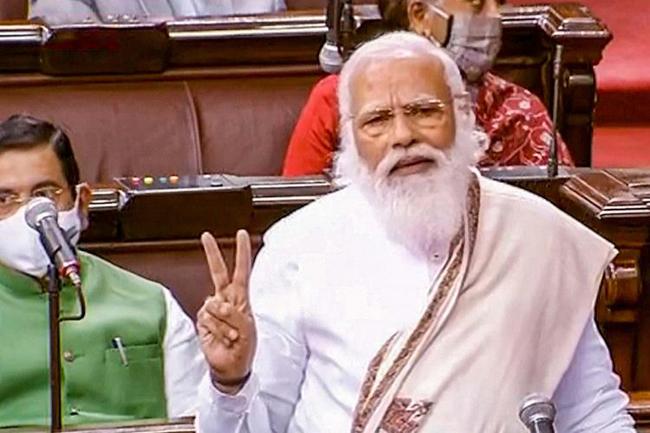 PM narendra modi west bengal farmers protest andolanjeevi election