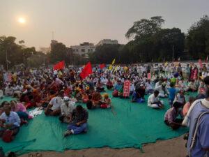 bengal elections kisan mahapanchayat farmers