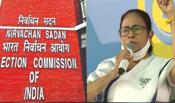 चुनाव आयोग बंगाल ममता बनर्जी प्रधानमंत्री नरेंद्र मोदी