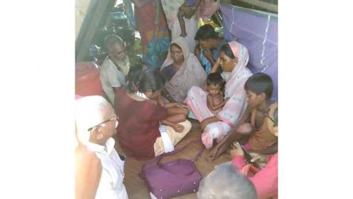 cpiml visits assam moinul haque darrang eviction